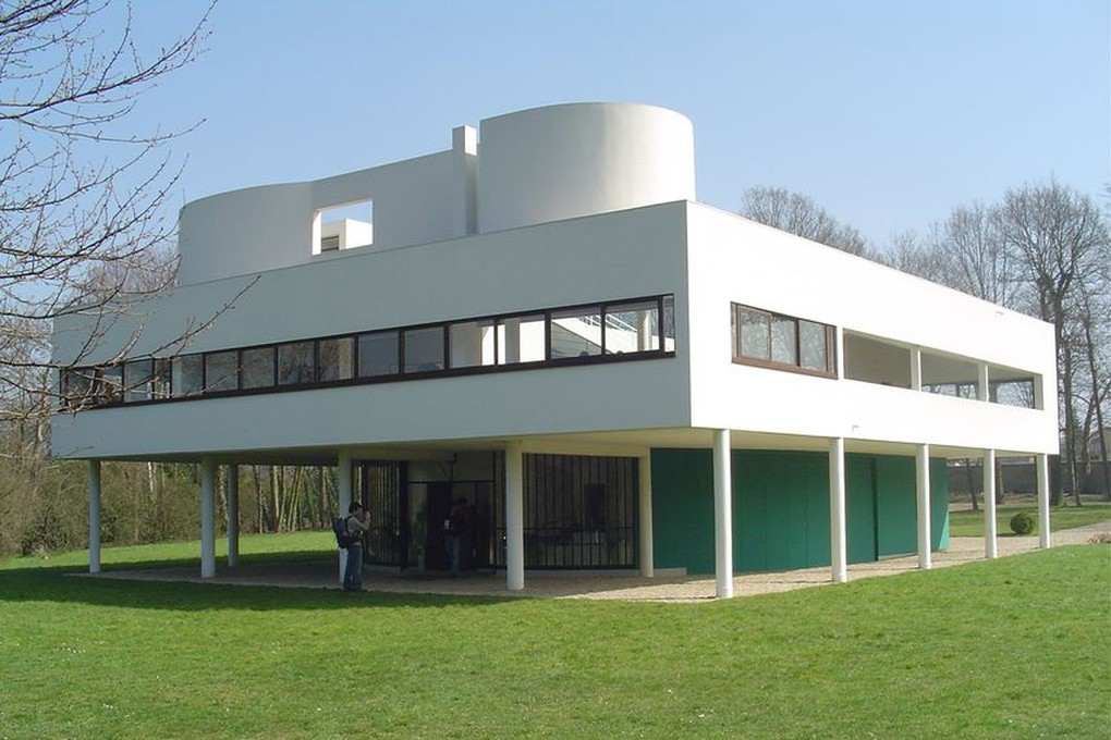 Villa Savoye, Poissy, France, 1931.