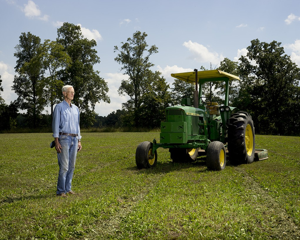 David Murray spent his summers in Iowa working on a farm in the late 1930s and early 1940s.